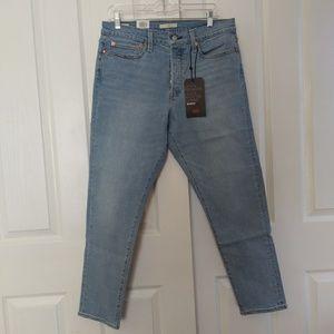 Nwt Levi's Wedgie High Rise Skinny Jean 31